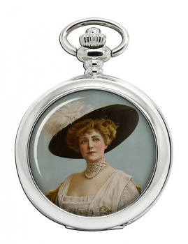 Lillian Russell Pocket Watch