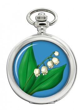 Lily of the Valley Pocket Watch