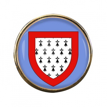 Limousin (France) Round Pin Badge