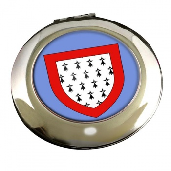 Limousin (France) Round Mirror