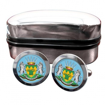 Limpopo (South Africa) Crest Cufflinks