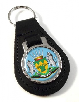 Limpopo (South Africa) Leather Key Fob
