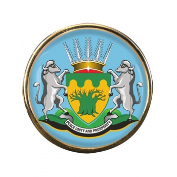 Limpopo (South Africa) Round Pin Badge