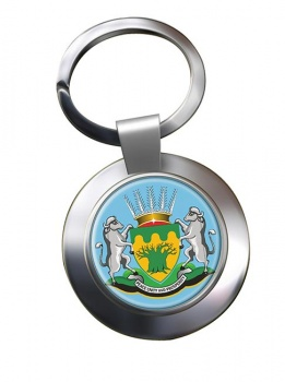 Limpopo (South Africa) Metal Key Ring