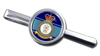RAF Station Linton-on-Ouse Round Tie Clip