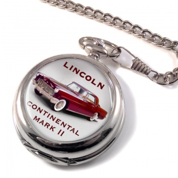 Lincoln Continental Mk II Pocket Watch