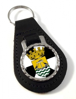 Lisboa Lisbon (Portugal) Leather Key Fob
