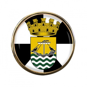 Lisboa Lisbon (Portugal) Round Pin Badge
