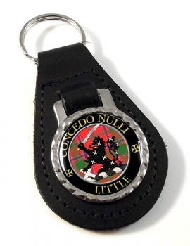Little Scottish Clan Leather Key Fob