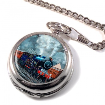 GER Liverpool Street Station Pocket Watch