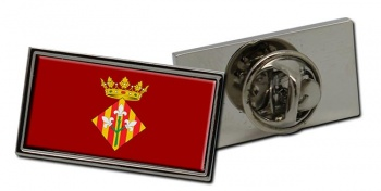 Lleida (Spain) Flag Pin Badge