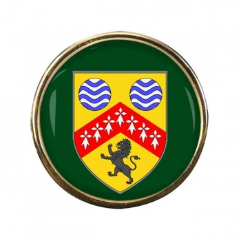 County Laois (Ireland) Round Pin Badge