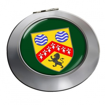 County Laois (Ireland) Round Mirror