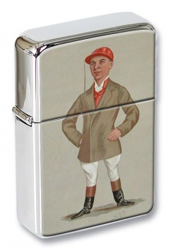 Tommy Loates Jockey Flip Top Lighter