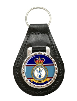RAF Station Locking (Royal Air Force) Leather Key Fob