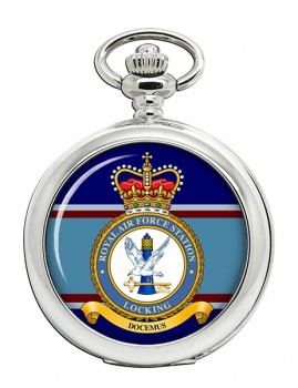 RAF Station Locking (Royal Air Force) Pocket Watch