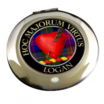Logan Scottish Clan Chrome Mirror