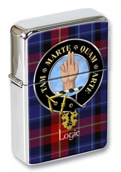 Logie Scottish Clan Flip Top Lighter