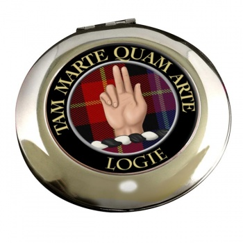 Logie Scottish Clan Chrome Mirror