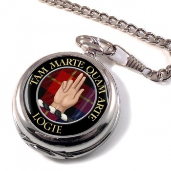 Logie Scottish Clan Pocket Watch