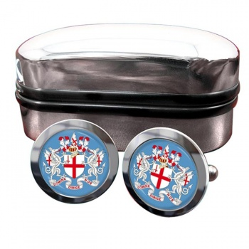 London (England) Crest Cufflinks