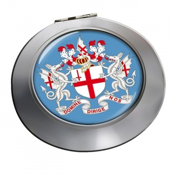 London (England) Round Mirror