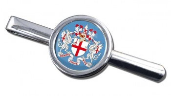 London (England) Round Tie Clip