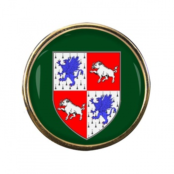 County Longford (Ireland) Round Pin Badge