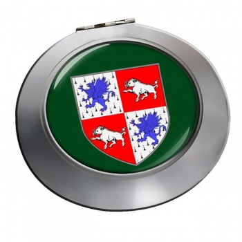 County Longford (Ireland) Round Mirror