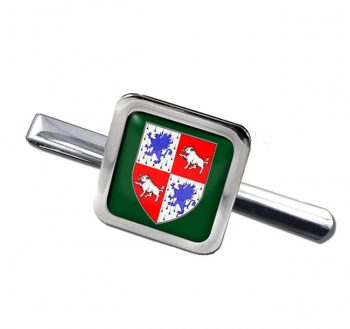 County Longford (Ireland) Square Tie Clip