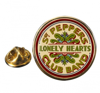 Lonely Heart Round Pin Badge