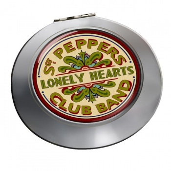 Lonely Heart Chrome Mirror