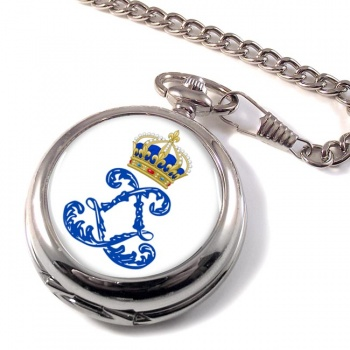 Monogram of Louis XIV (France) Pocket Watch