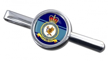 RAF Station Little Rissington Round Tie Clip