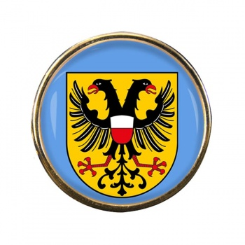 Lubeck (Germany) Round Pin Badge