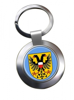 Lubeck (Germany) Metal Key Ring