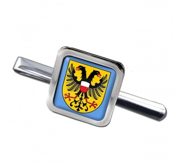 Lubeck (Germany) Square Tie Clip