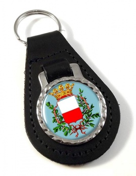 Lucca (Italy) Leather Key Fob
