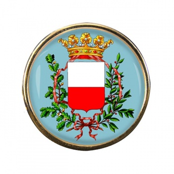 Lucca (Italy) Round Pin Badge
