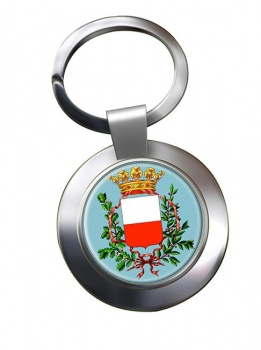 Lucca (Italy) Metal Key Ring