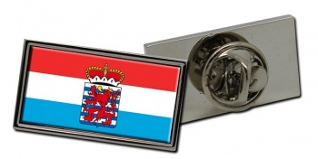 Luxembourg (Belgium) Flag Pin Badge