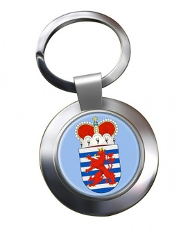Luxembourg (Belgium) Metal Key Ring