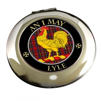 Lyle Scottish Clan Chrome Mirror