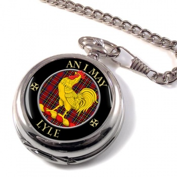 Lyle Scottish Clan Pocket Watch