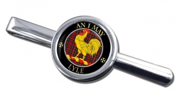 Lyle Scottish Clan Round Tie Clip