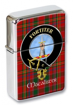 Macalister Scottish Clan Flip Top Lighter