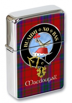 Macdougall Scottish Clan Flip Top Lighter
