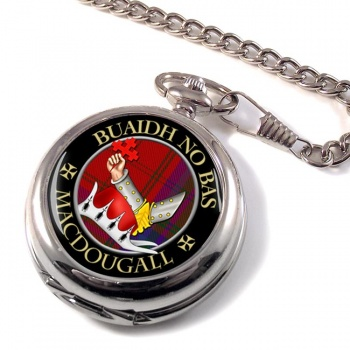 Macdougall Scottish Clan Pocket Watch