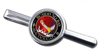 Macdougall Scottish Clan Round Tie Clip