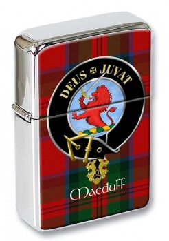 Macduff Scottish Clan Flip Top Lighter